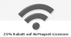 25% Rabatt auf AirMagnet Lizenzen