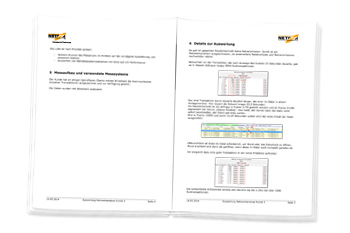 Auswertung der Netzwerkanalyse bei Kunde X
