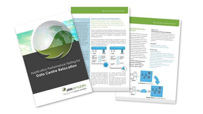 White Paper zum Thema Applikationsperformancetesting bei Data Center Umzügen