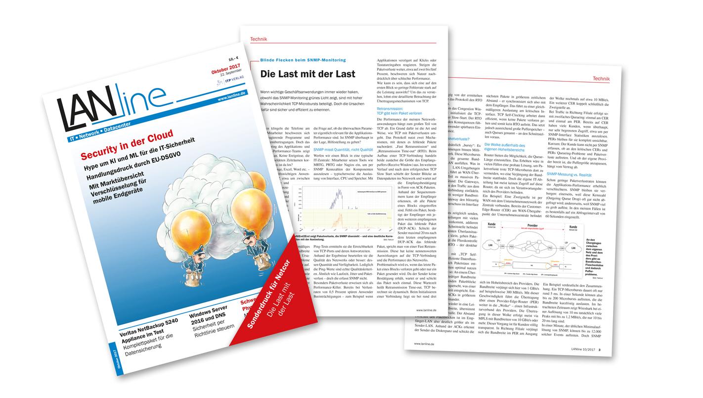 LANline Artikel: Die Last mit der Last - blinde Flecken beim SNMP-Monitoring