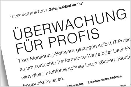 NETCOR GeNiEnd2End im Test der funkschau